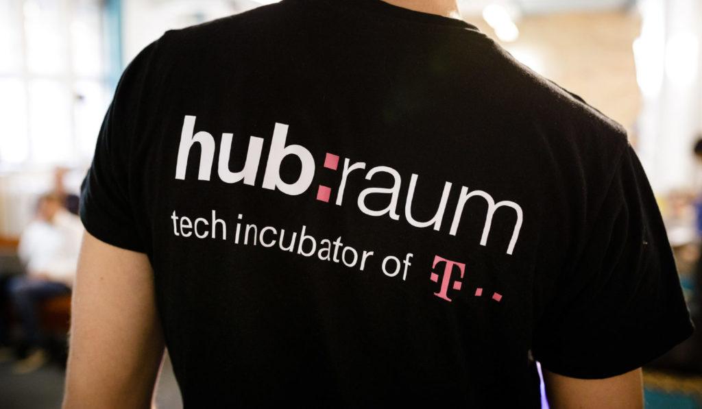 backprint of a hubraum shirt