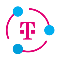 image telekom icon with circle