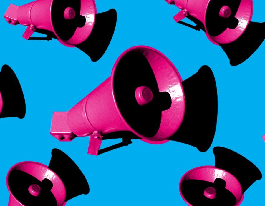 picture of megaphones