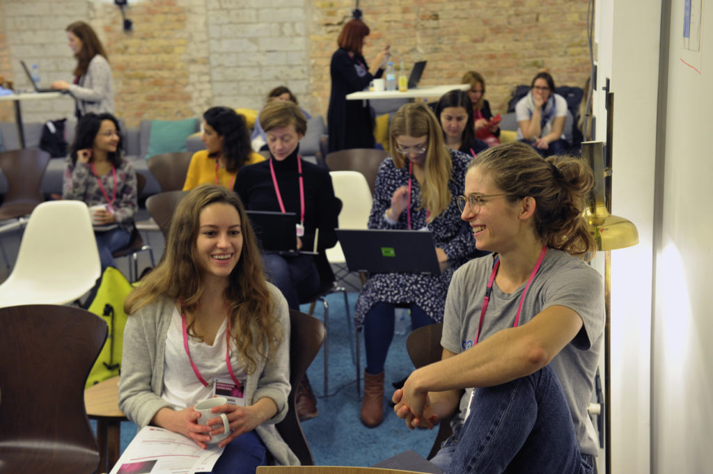 Participants from all over Europa got together to challenge themselves and exchange knowledge